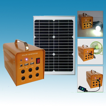 12V/6W Portable Solar Camping Power  Bank