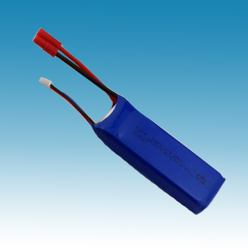7.4V/2000mAh Li-ion Polymer Battery for R/C Model