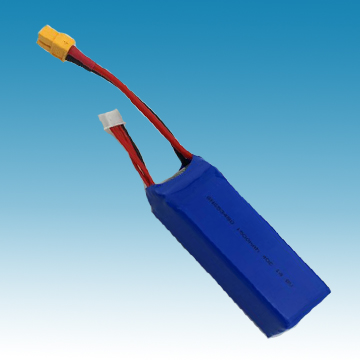 14.8V/1500mAh Li-ion Polymer Battery for R/C