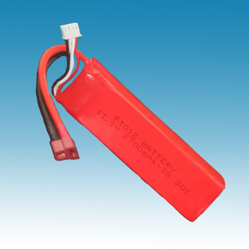 11.1V/2700mAh Li-ion Polymer Battery for R/C