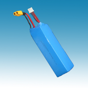 11.1V/5.6Ah Li-ion Polymer Battery for R/C Model